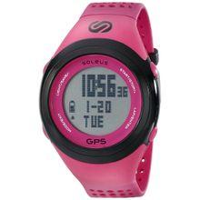 Soleus SG100611 Mens Grey Dial Digital Quartz Watch with Resin Strap