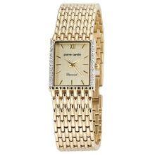 Pierre Cardin PCD2001YC Mens Gold Dial Analog Quartz Watch