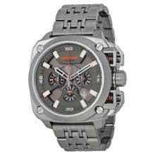 Diesel DZ7344 Mens Grey Dial Analog Quartz Watch with Stainless Steel Strap