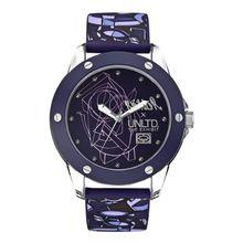 Marc Ecko E09530G4 Womens Purple Dial Analog Quartz Watch with Silicone Strap