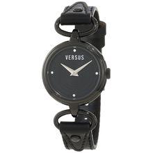 Versus By Versace 3C67600000 Womens Black Dial Analog Quartz Watch