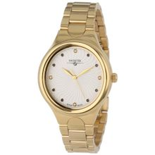 Swisstek SK11217L Womens White Dial Analog Quartz Watch
