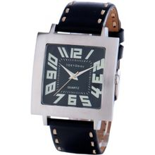 Tokyobay T105-BK Unisex Black Dial Analog Quartz Watch