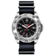 Traser 105470 Mens Black Dial Analog Quartz Watch