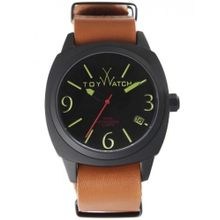 Men's Brown Toywatch Icon Leather Strap Watch IC02BK