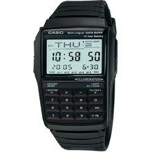 Casio DBC32-1A Mens Grey Dial Digital Quartz Watch with Resin Strap