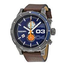 Diesel Double Down 2.0 Chrono DZ4350 Mens Blue Dial Analog Quartz Watch