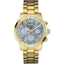 Guess U0330L13  Women's Gold-Tone Guess Feminine Multi-Function Watch