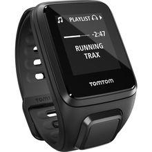 Tomtom 1RFM.002.03 Unisex Black Dial Digital Quartz Watch with Silicone Strap