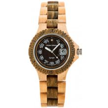 Tense Sports Wood G4100MG Mens Brown Dial Analog Watch