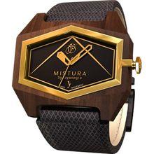 Mistura INFESSBLKGLD Unisex Multicolor Dial Analog Quartz Watch
