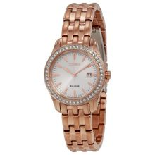 Citizen EW1903-52A Womens Silver Dial Analog Watch with Stainless Steel Strap