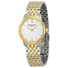 Frederique Constant FC-200S1S33B Womens Silver Dial Analog Quartz Watch