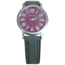 Tokyobay T145-GR Womens Purple Dial Analog Quartz Watch