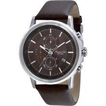 Kenneth Cole KC1928 Mens Brown Dial Chronograph Quartz Watch