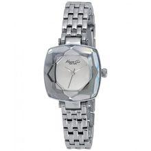 Kenneth Cole KC0011 Womens Silver Dial Analog Quartz Watch