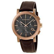 Burberry BU1863 Mens Brown Dial Analog Quartz Watch