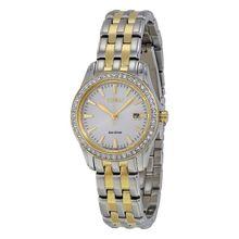 Citizen EW1908-59A Womens Silver Dial Analog Quartz Watch