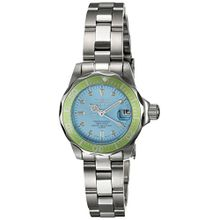 Invicta 11438 Womens Blue Dial Analog Quartz Watch with Stainless Steel Strap