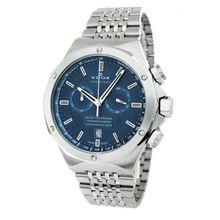 Edox 10108 3 BUIN Mens Delfin Analog Display Swiss Quartz Silver Watch