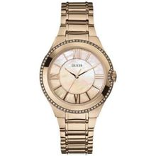 Guess U15503L1 Womens Mop Dial Quartz Watch with Stainless Steel Strap