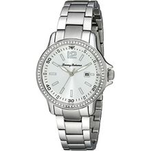 Tommy Bahama 10018326 Womens Silver Dial Analog Quartz Watch