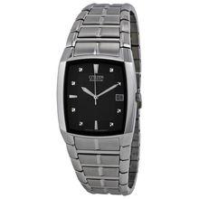 Citizen BM6550-58E Mens Black Dial Analog Quartz Watch