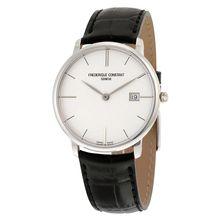 Frederique Constant FC-220S5S6 Mens Silver Dial Analog Quartz Watch