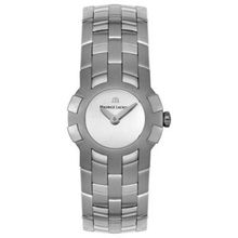 Maurice Lacroix IN1013-SS002-191 Womens Silver Dial Quartz Watch