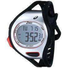 Asics CQAR0701 Mens Grey Dial Digital Quartz Watch with Polyurethane Strap