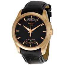Tissot Couturier Automatic Day Date Black Dial Men's Watch T035.407.36.051.00