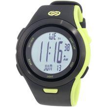 Soleus SR010-052 Mens Grey Dial Digital Quartz Watch with Plastic Strap