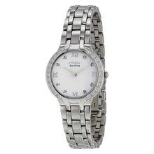 Citizen EM0120-58A Womens Diamond Dial Analog Quartz Watch