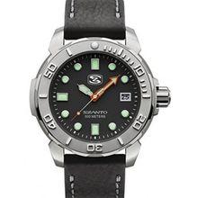 Szanto SZ5101 Mens Quartz Watch with Leather Strap