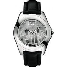 Marc Ecko E08504G3 Mens City Silver Black Watch