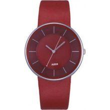 Alessi AL8001 Unisex Red Dial Analog Quartz Watch