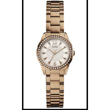 Women's Rose-Gold Guess Refined Feminine Sparkle Watch U0445L3