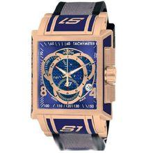 Invicta 11689 Mens Blue Dial Analog Quartz Watch with Polyurethane Strap