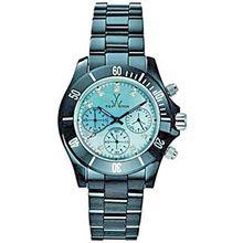 Toy Watch CCS01BK Womens Blue Dial Quartz Watch with Ceramic Strap