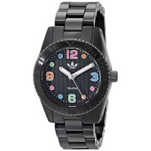 Brisbane Black Dial Black Resin Ladies Watch