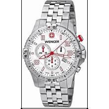 Men's Swiss Wenger Squadron Chronograph Watch 77059