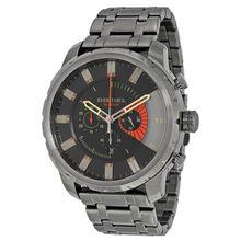 Diesel DZ4348 Mens Grey Dial Analog Quartz Watch with Stainless Steel Strap