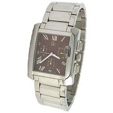 Guess 29502G3 Mens Brown Dial Quartz Watch with Stainless Steel Strap