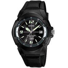 Casio MW600F-1AV Mens Black Dial Analog Quartz Watch with Resin Strap