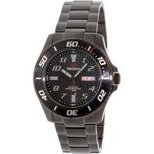 Precimax PX13226 Mens Black Dial Analog Automatic Watch