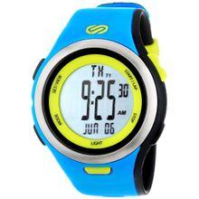 Soleus SR010452 Mens Grey Dial Analog And Digital Quartz Watch with Resin Strap