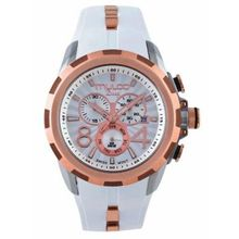 Mulco MW129382013 Mens Silver And Rose Gold Dial Analog Watch