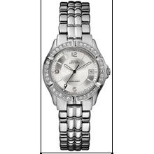 Women's Guess Spost Steel Crystal Glitz Watch G75511M