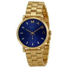 Marc By Marc Jacobs MBM3343 Womens Blue Dial Analog Quartz Watch