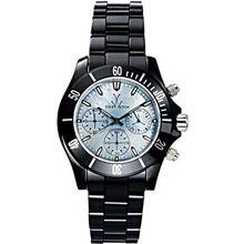 Toy Watch CCO1BK Womens Blue Dial Quartz Watch with Ceramic Strap